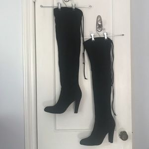 Steve Madden Over the Knee Suede Boot